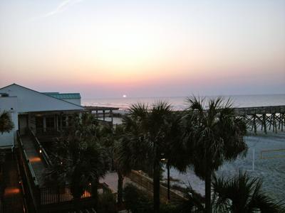 Folly Beach sunrise.