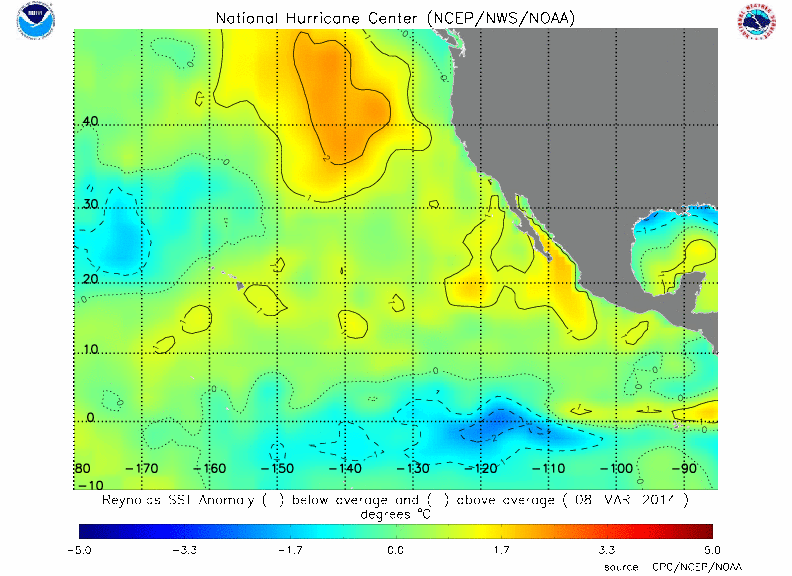 SST Pacific map
